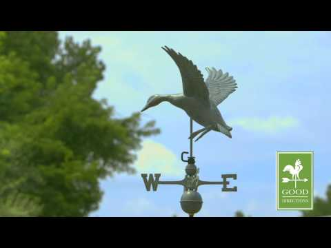 Good Directions 9605V1 Landing Duck Weathervane - Blue Verde Copper