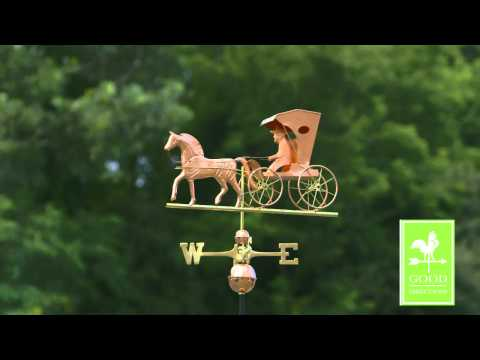 Good Directions 548P Country Doctor Weathervane - Polished Copper