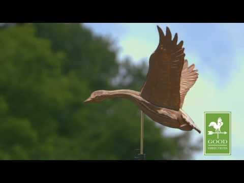 Good Directions 9663P Goose Weathervane - Polished Copper