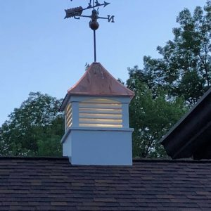 craftsmanship cupola weathervane