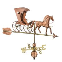 548pa country doctor weathervane with arrow pure copper