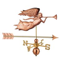 630pa angel with arrow weathervane pure copper