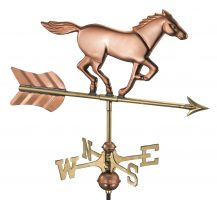 801pr horse cottage weathervane pure copper