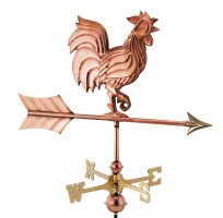 802pr rooster cottage weathervane pure copper