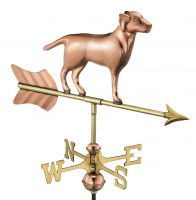 810pr labrador retriever cottage weathervane pure copper