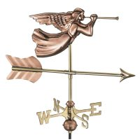 819pr angel cottage weathervane pure copper