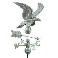 955v1 smithsonian eagle weathervane blue verde copper