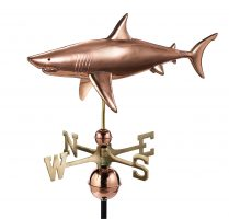965p shark weathervane pure copper