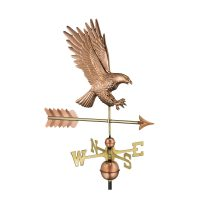 1969p american bald eagle weathervane pure copper