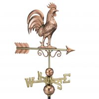 1975p bantam rooster weathervane pure copper