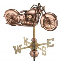 8846pr motorcycle cottage weathervane pure copper