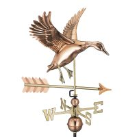 9605pa landing duck with arrow weathervane pure copper