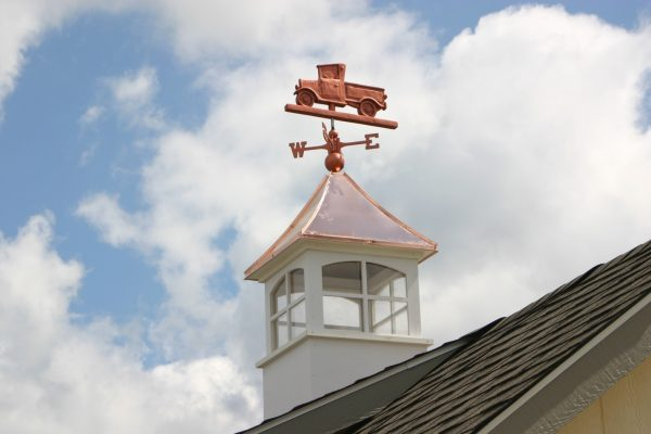 cupolas sizing on roof