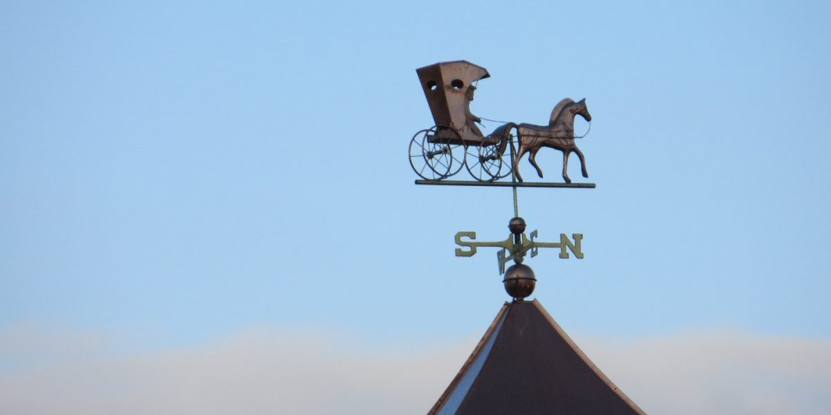 how to properly size a cupola with weathervane