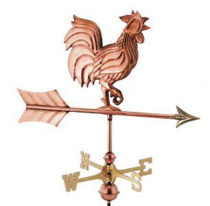 rooster cottage weathervane 1