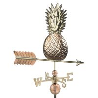 9635P pineapple weathervane polished copper