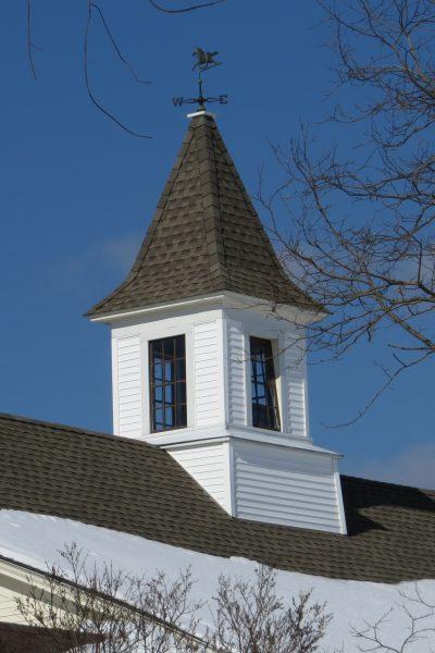 old barn roof cupola
