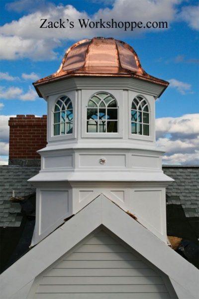 Roof cupola options