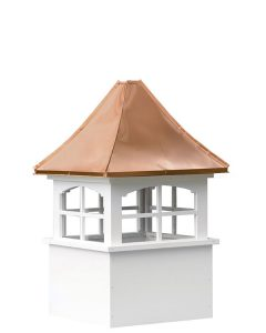 amish medium vinyl cupolas for sale