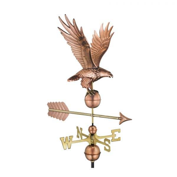 1970p freedom eagle weathervane pure copper