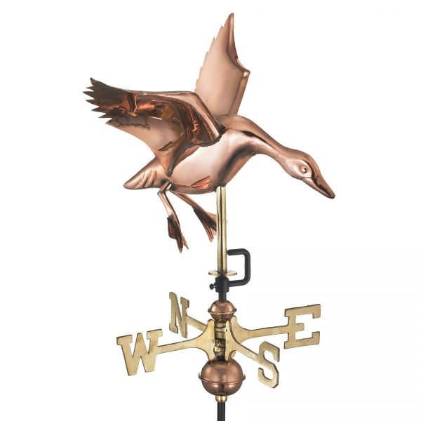 804pr landing duck cottage weathervane pure copper